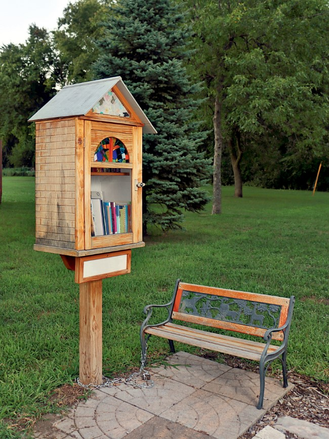 Community Little Free Library Photo by Roger Siljander