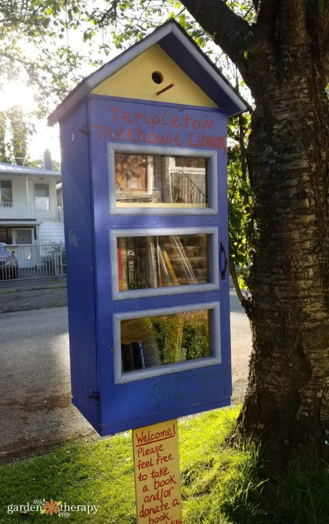 Little Free Library Templeton Vancouver