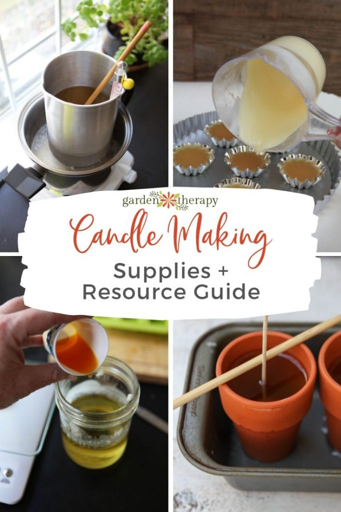 Candle Making Supplies and Resource Guide