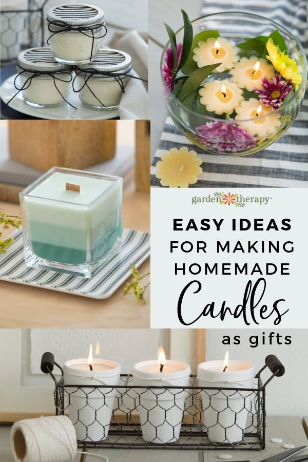 Easy Ideas for Making Homemade Candles as Gifts