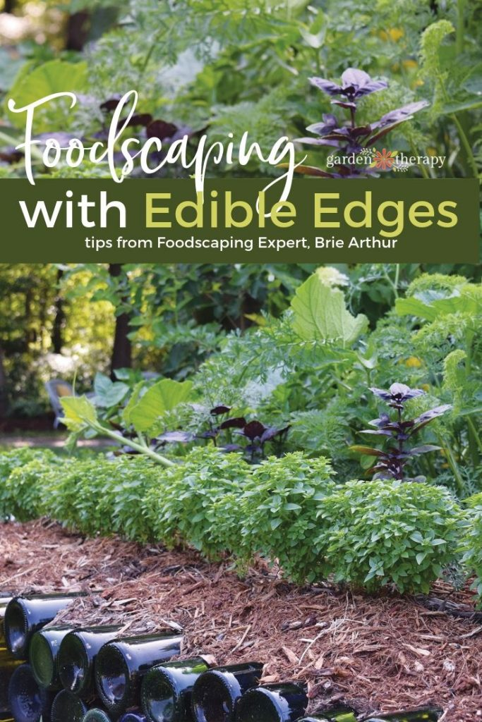 Foodscaping with Edible Edges from Expert Brie Authur
