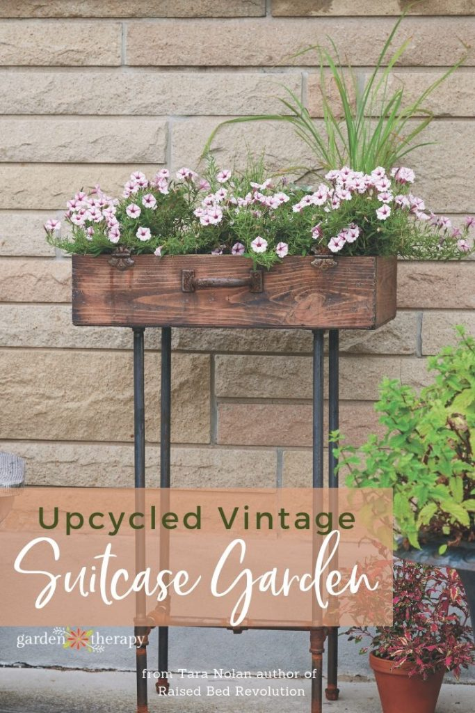 Upcycled Vintage Suitcase Garden