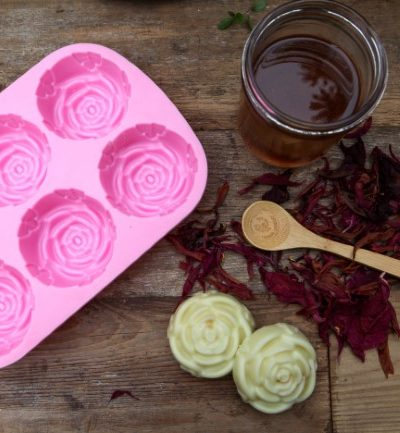 How to Make Lotion Bars with herbal oils