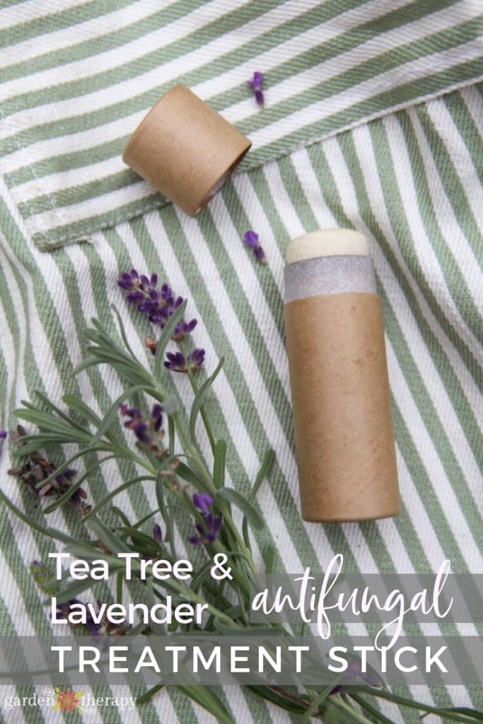 Lavender and Tea Tree Oil Antifungal Treatment Stick