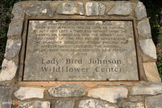 Welcome to the Lady Bird Johnson Wildflower Center
