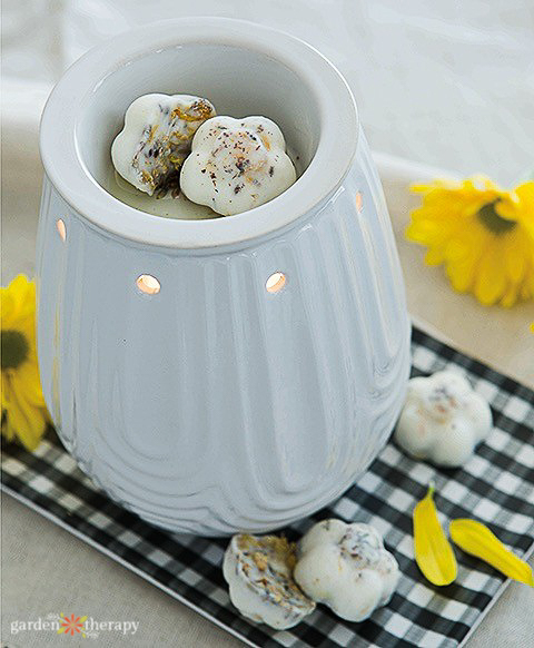 Electric Wax Melt Warmer and herbal melts