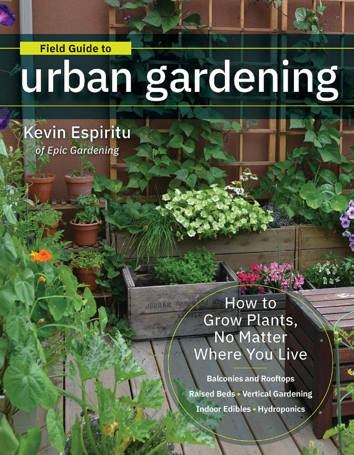 Field-Guide-to-Urban-Gardening- Book By Kevin Espiritu