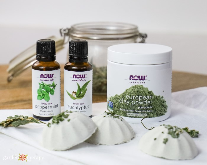 Peppermint and Eucalyptus Aromatherapy Shower Steamers