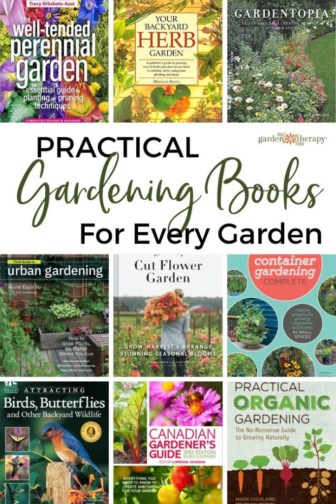 Practical Gardening Books for Every Garden