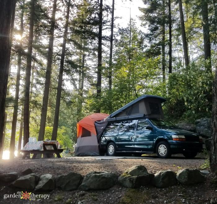 Camper Van Cultus Lake