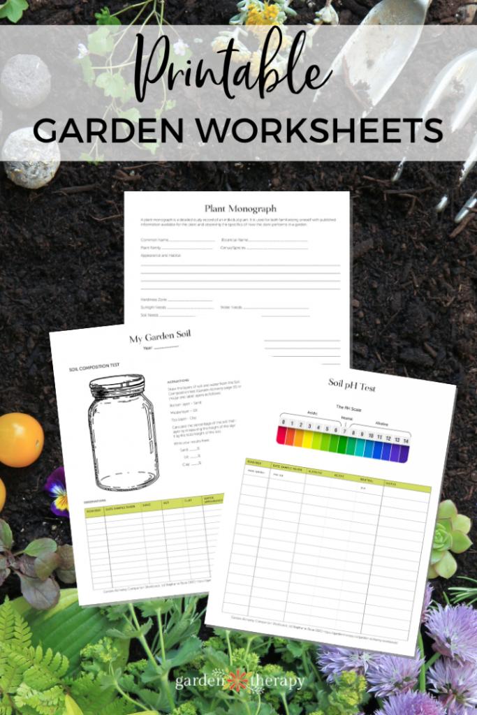 Garden Alchemy Workbook Pages Printed