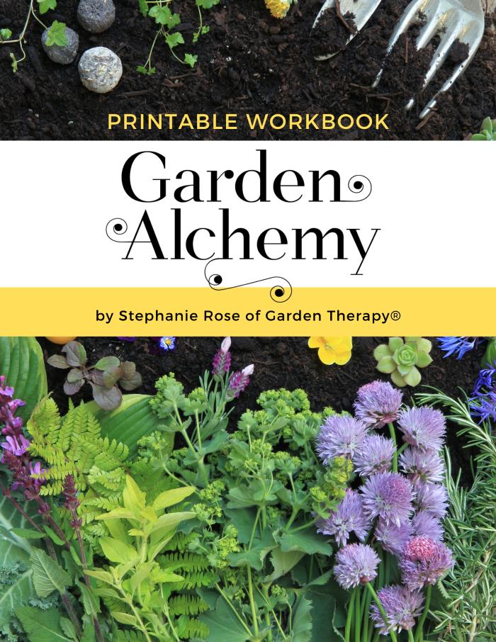 Garden Alchemy Workbook Printable Cover