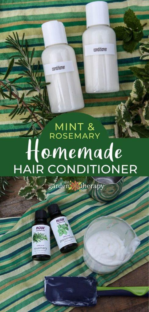 Rosemary Mint Homemade Hair Conditioner
