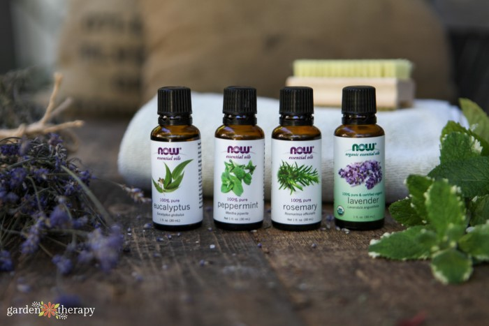 Essential oils to use for pain relief in a diy oatmeal bath recipe