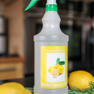 DIY Granite Cleaner: Clean Your Countertops Naturally