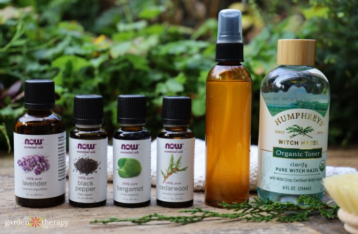 Row of ingredients from iHerb