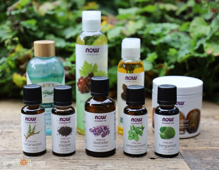 essential oils for diy men's products