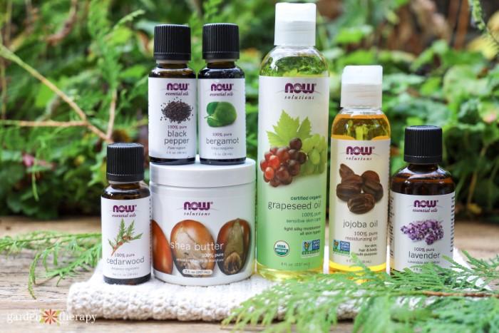ingredients for diy beard oil