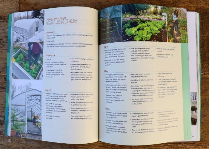 Gardening Under Cover Book Niki Jabbour interior