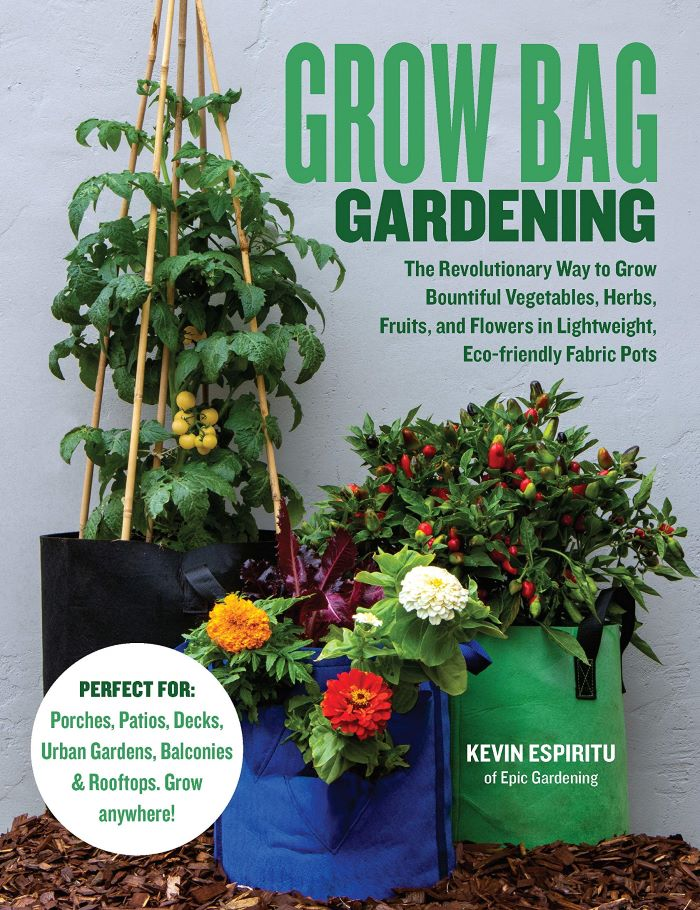 Grow Bag Gardening cover
