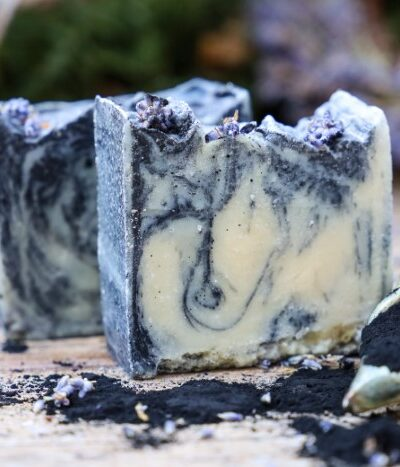 charcoal soap for maskne