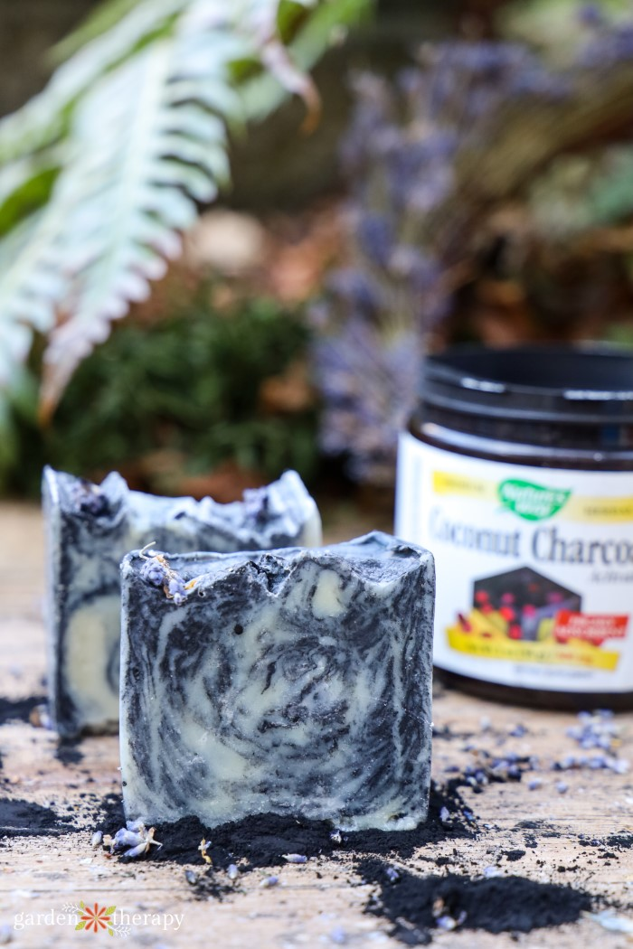 activated coconut charcoal soap for maskne