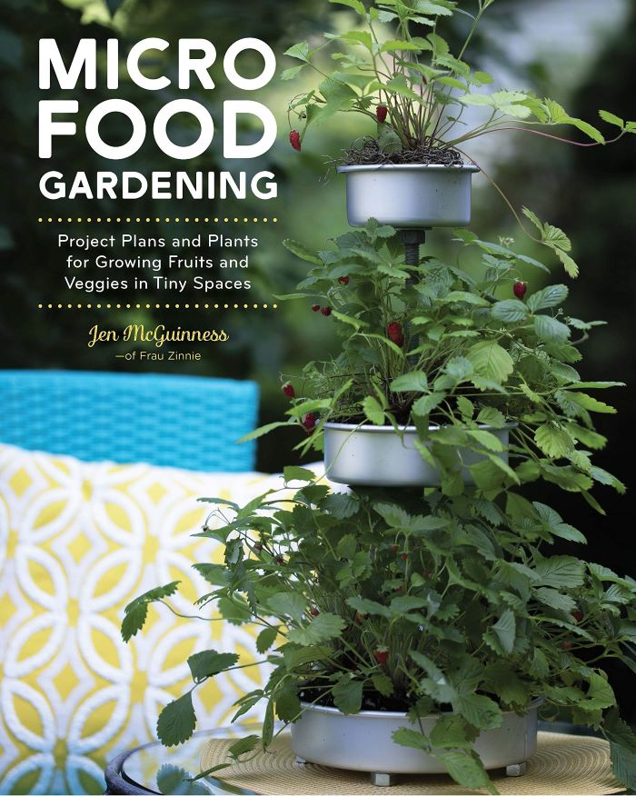 Micro Food Gardening book cover