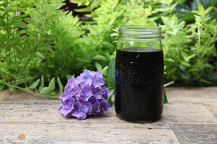 indoor plant fertilizer in jar
