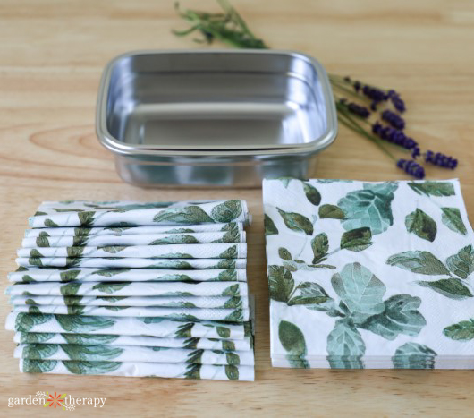 napkins for disinfectant wipes