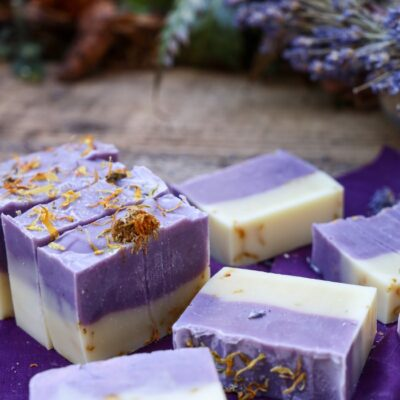 Lemongrass and Lavender Deodorizing Soap for Tackling Strong Odours