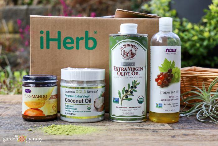 iHerb soap making ingredients