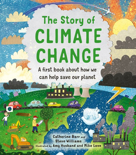 The Story of Climate Change, an environmental book for kids